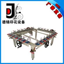 Máquina de estiramiento de pantalla de rueda de cadena