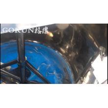 Livraison rapide Machine de mélange de grattoir de réservoir de mélange d'acier inoxydable de prix usine
