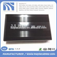 """Aluminium alloy USB 2.0 SATA 3.5"""" External Hard Drive Enclosure"""
