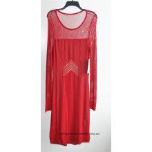 63% Rayon37% Nylon Mujer Knit Sweater Dress