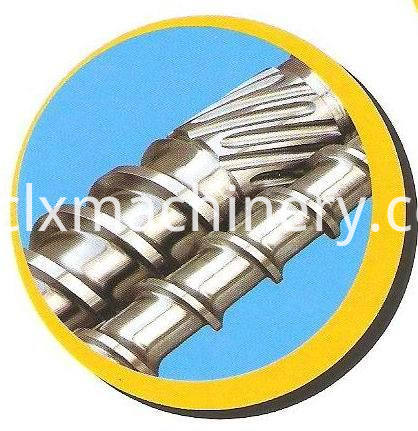 double screw stretch film machinery