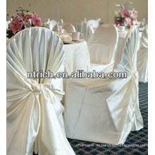 Großhandel Top-Qualität-Hochzeit-Stuhlabdeckung, billige universal Hochzeit Stuhlabdeckung, satin Wrap selbst gebundenen Stuhlabdeckung