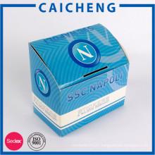 Factory custom logo printed rectangle folding paper box