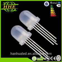 3mm 5mm 8mm led diode 0.06W /0.5W single color /rgb /double color
