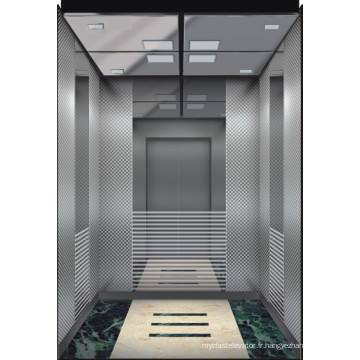 Miroir Etched Stainless Steel Passenger Elevator from China Manufacturer