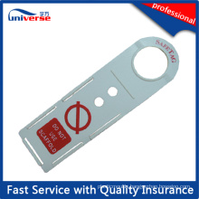 Construction Inspection Scaffolding Holder Tag