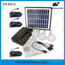 Kits de energía solar con bombilla de LED de alto brillo de 3PCS