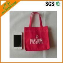 barato mini bolso no tejido reutilizable del eco