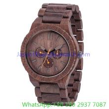 Montres à quartz de haute qualité de montres en bois de 2016 (Hl-Ja 15023)