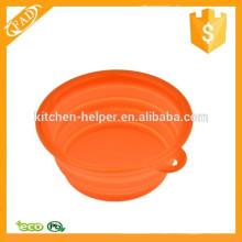 BPA Free Food Grade Silicone Foldable Bowl