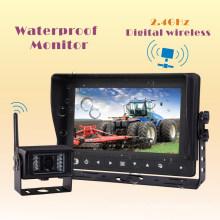 Waterproof Wireless Rear View Camera System for Farm Tractor, Combine, Cultivator, Plough, Trailer, Truck