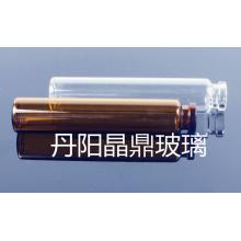Serie de frasco de cristal Tubular claro de alta calidad
