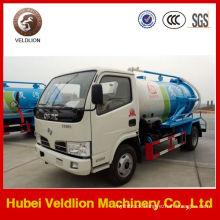 Dongfeng Mini 2000L Vacuum Pump Sewage Tanker Truck