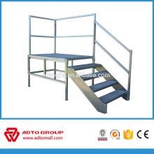 Manufacture OEM aluminum platform ladder,folding platform ladder,aluminum stair