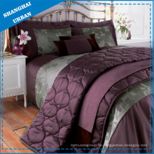 3PCS Polyester Quilt Set & Tröster Bettwäsche