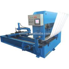 metal roof sheet crimping machine