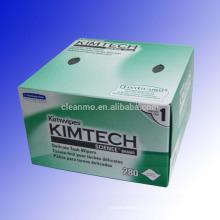 Kimwipes pour le nettoyage de fibre optique ou pour le nettoyage de fibre de lentille de caméra, nettoyage de lunettes, 110mm x 210mm