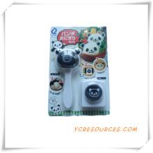 Bolo Venda Quente Diferente Formas de Plástico Cortador de Biscoitos 2015 Presente Relativo à Promoção Molde de Bolinho A Panda Embossing Device (HA13012)