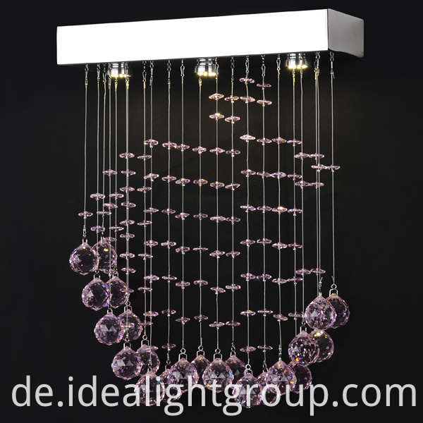 hanging tea light chandelier