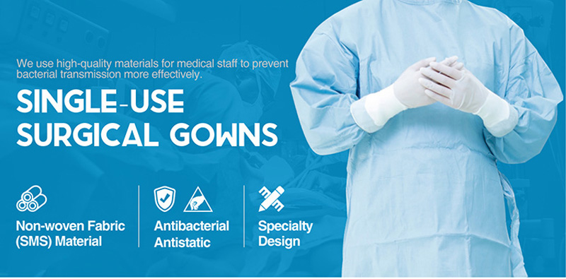 single use surgical gown