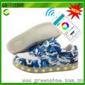 Neue APP kontrollierte LED Schuhe Hersteller Cool Light Schuhe