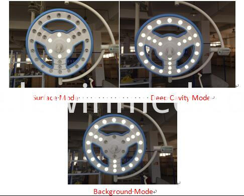 Hollow type led OT lamp