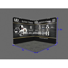 3x3 (10x10) Portable Advertising promotion square tube Trade Show Booth equipment
