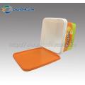 Conteneur alimentaire en plastique IML personnalisé avec poignée