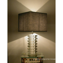 Contemporary Crystal Table Lamp (8204)