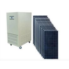 Inicio Uso del sistema de energía solar 6kw