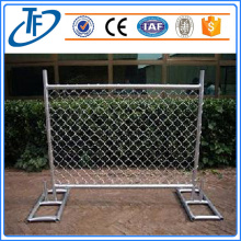 Chain link mesh temporay fence