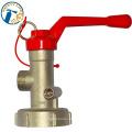 Preço de válvulas de segurança de latão de incêndio hidrante Dn65