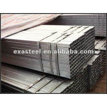 Galvanized steel square hollow section for table legs