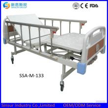 China Manual de Origen Three Crank Hospital Cama