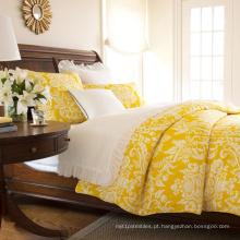 Novo Design de poliéster e roupa de cama de algodão conjunto estilo Europeu