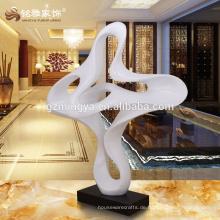Made in China Innen dekorative Harz Figur weiße Wolke Form Harz Kunst Handwerk für Wohnkultur