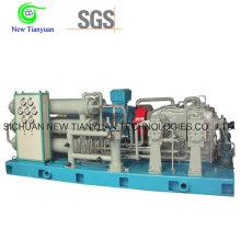 5 ступеней сжатия Газовый бустер CNG Природный газовый компрессор