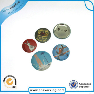 Benutzerdefinierte Logo gedruckt Gummi Anstecknadel Abzeichen mit Pin