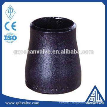 Réducteur de tuyau d'acier à raccordement à la soudure