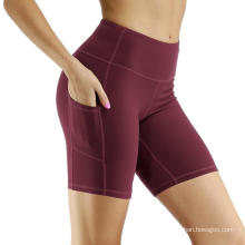 Out Pocket Non See-Through Yoga Shorts
