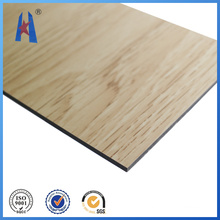 Wall Cladding, Aluminum Composite Panel with Wood Surface