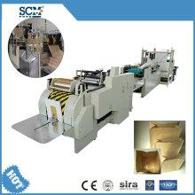 Kraft Square Bottom Paper Bag Making Machine/Grocery Bag Making Machine