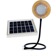 Luz que acampa Solar flexible con cargador de teléfono