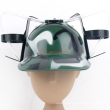 Sombrero de consumición de la cerveza del camuflaje de la impresión de encargo con la paja para el día de St Patrick