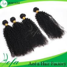 Neuestes heißes Verkauf mongolisches Jungfrau-Haar-verworrene lockige Welle