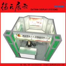 3x3m recyceln Shanghai Roofless Aluminium Square Tube Stand