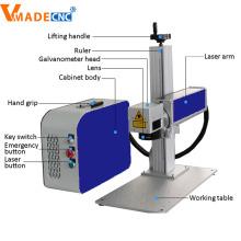 Laser-Markiermaschine aus Metall