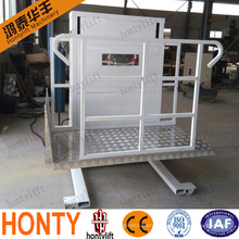 New style Portable automobile wheelchair lifts