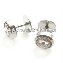 Aço inoxidável tragus cuff brinco piercing stud ouvido tragus jóias