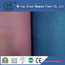 Tissu non-tissé de Spunbond de 100% polypropylène pour des sacs de chaussures